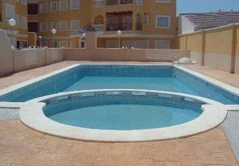 Apartment in Spain, Almoradi: The pool