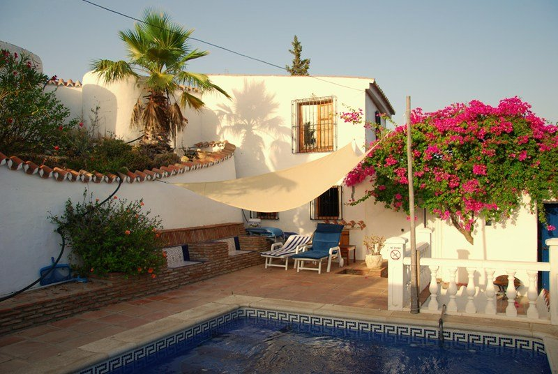 Villa To Rent In Iznate Spain With Private Pool 54281