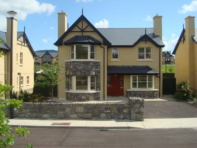 House in Ireland, Kenmare: External View