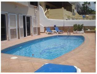 Villa in Spain, Callao Salvaje: The lovely pool area - also has sea views