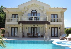 Villa in Dalyan, Turkey: Front View