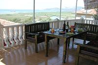 Villa in Turkey, Dalaman: Enjoy a meal on the main balcony