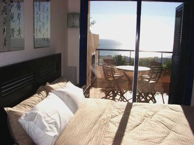 Apartment in Spain, Mojacar Playa: Seaview master bedroom