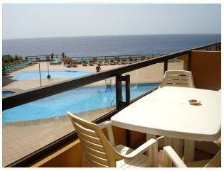 Apartment in Spain, Golf del Sur: Great views from the large sunny balcony
