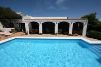 Finca in Spain, Guime: Heated pool and covered terrace with  dining table & chairs & hot-tub