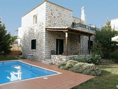 Villa in Greece, Pendamodi: Outdoor view