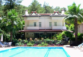 Villa in Turkey, Gocek: Front of property, July 2014.
