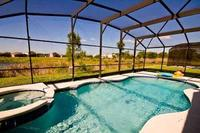 Villa in USA, Silver Creek: Huge South-Facing 30 x 15ft Pool with Spa