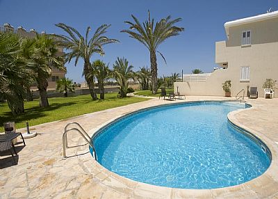 Apartment in Cyprus, Tombs of the Kings: Pool Area and Gardens
