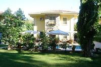 Villa in Turkey, Gocek: Villa Oleandra from the lawn Sept 2009