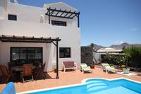 Villa in Spain, Montaña Roja: outside swimming pool and terrace