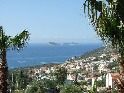 Apartment in Turkey, Kalkan: View from terrace