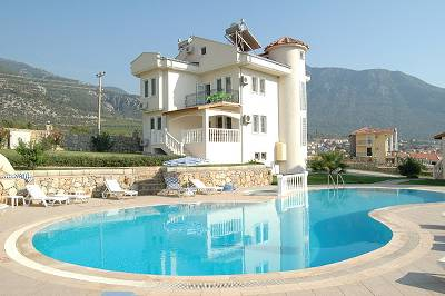 Apartment in Turkey, Hisaronu: View of Pool and Apartment