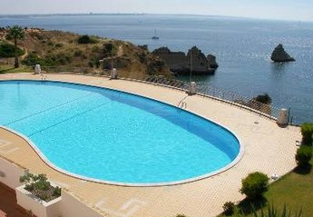 Studio Apartment in Portugal, Dona Ana: Pool and sea