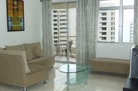 Apartment in Malaysia, Tanjung Bungah: Living Area and Balcony