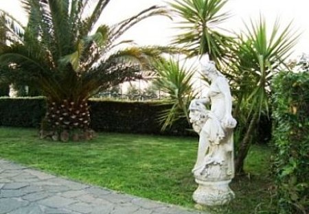 Country House in Frascati, Italy: garden