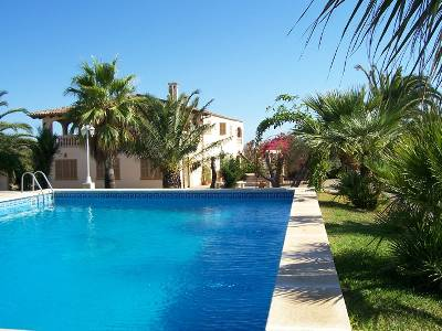 Villa in Spain, Ca'n Picafort: private pool