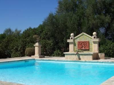 Villa in Spain, Llubí: pool