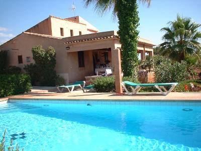Villa in Spain, Santanyí: pool