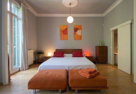 Apartment in L'Antiga Esquerra De L'Eixample, Spain: Master Bedroom