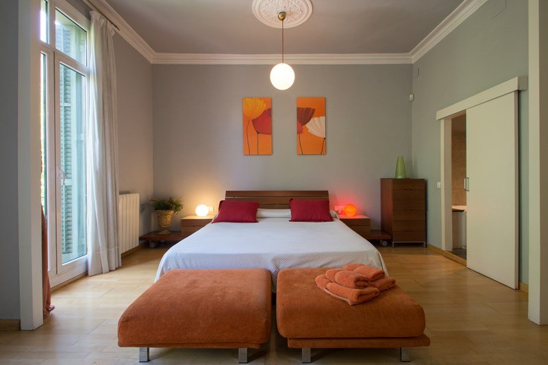 Apartment in Spain, L'Antiga Esquerra De L'Eixample: Master Bedroom