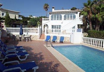 Villa in Spain, Benimeit: Villa & Pool Area