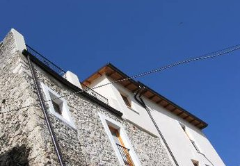 House in Italy, Sulmona: The back of the house