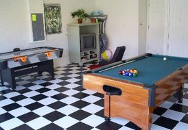 Villa in Highgrove, Florida: Your own private games room