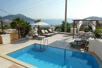 Villa in Turkey, Kalkan: Pool Terrace