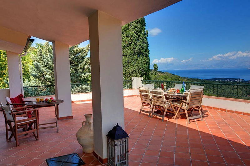 Villa in Greece, Kassiopi