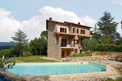 Country house in Italy, Todi Area: Villa exterior