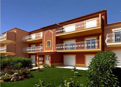 Apartment in Portugal, Alvor: Front of apartments
