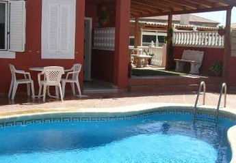 Villa in Spain, Granadilla de Abona: Lovely pool
