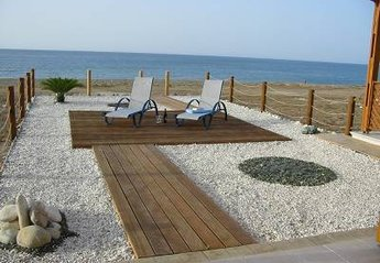 House in Cyprus, Latchi: Back Garden - On The Beach!