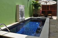 Villa in Indonesia, Bali Nusa Dua: Beautiful crystal clear private pool