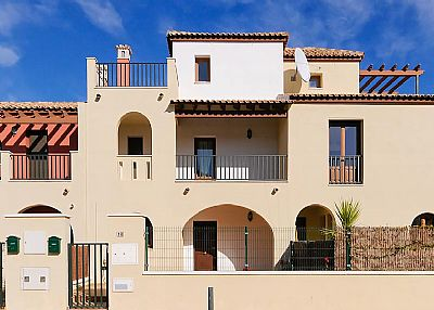 Village house in Spain, Costa Esuri: Our villa