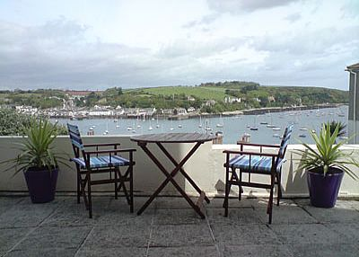 Apartment in United Kingdom, Falmouth: Stunning views from the Patio