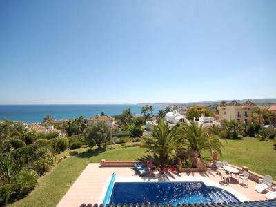 Villa in Spain, Seghers: private swimming pool, view to the sea