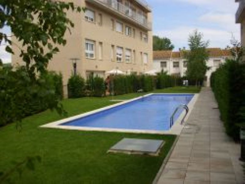Apartment in Spain, Sant Antoni de Calonge: view of the pool