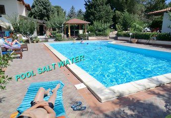 Villa in Italy, BALESTRATE: POOL SALT WATER