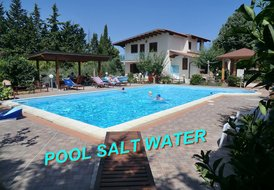 SAPPHIRE HOME POOL SALT WATER & NATURAL CHLORINE! UP TO 6 PERSONS