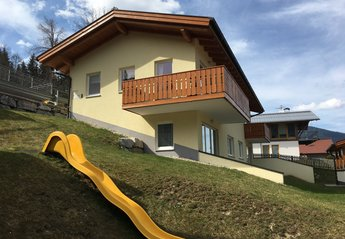 Penthouse_apartment in Austria, Flachau: Summerhaus in Summer.