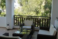 Apartment in Cyprus, Kapparis: Veranda with Patio Lounge Set