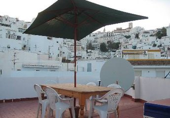 Apartment in Spain, Salobrena: old town view