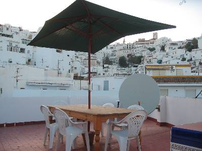 Apartment in Spain, Salobreña: old town view