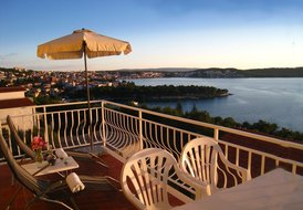 Trogir Yellow House Apartment 2  Big private bacony, superb view!