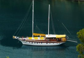 Gocek FULL BOARD Yacht (Gulet) and Crew