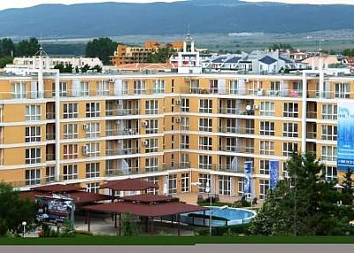 Apartment in Bulgaria, Resort centre: Flores view