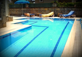 Villa in Turkey, Calis: pool area