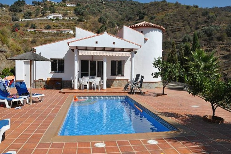 Villa in Spain, Arenas: View